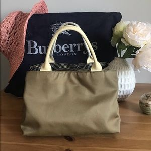 🛍 Authentic BURBERRY of London Blue Label Tote